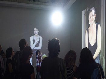 'Gender Monologues' – interactive media installation